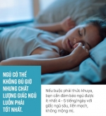 Thường xuyên thức khuya, xem ngay 4 điều chuyên gia khuyên để bảo vệ sức khỏe