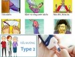 Biểu hiện của bệnh tiểu đường tuýp 2 (type 2)