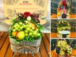 Giỏ trái cây quà tặng nữ y bác sĩ điều dưỡng nhân ngày 20/10 - Sức khỏe nhanh bổ sung trái cây mùa covid