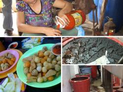 Tương ớt từ nước lã và hóa chất vẫn được người dân Sài Gòn sử dụng hằng ngày
