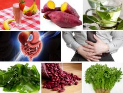 Hỗ trợ và thanh tẩy đường tiêu hóa với thực phẩm từ thiên nhiên