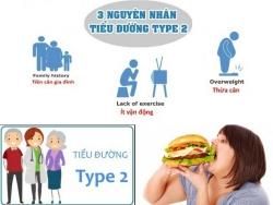 Nguyên nhân tiểu đường tuýp 2 (type 2)