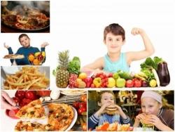 Dạy trẻ phòng ung thư do ăn uống sai lầm