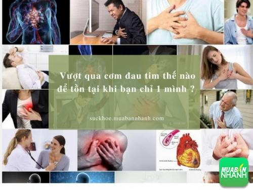 Vượt qua cơn đau tim khi ở 1 mình