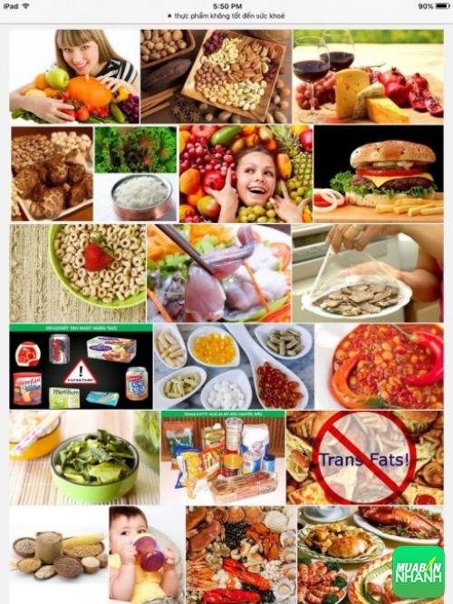 6 loại thực phẩm gây ảnh hưởng đến sức khỏe