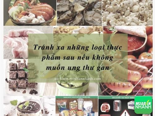 Tránh xa những loại thực phẩm sau nếu không muốn ung thư gan, 18, Phương Thảo, Cẩm Nang Sức Khỏe, 20/09/2016 14:57:05