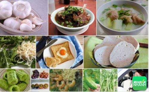 Thức ăn gây ảnh hưởng rất lớn đến cơn say xe