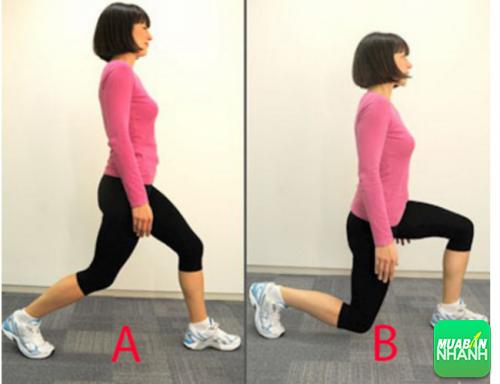 Động tác 2 bài tập luyện thon chân