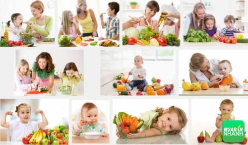 Dinh dưỡng hợp lý giúp trẻ chống lại bệnh còi xương