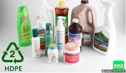 Nhựa HDPE có khả năng tích tụ vi khuẩn vô cùng cao
