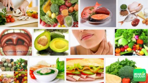 thực phẩm là 1 phần quan trọng giúp người ung thư amidam mau hồi phục sức khỏe