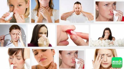 Ung thư xoang gây khó khăn trong hoạt động hô hấp
