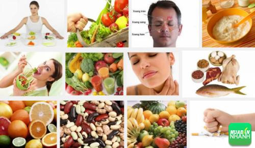 Thực phẩm giúp ngăn ngừa và hỗ trợ người ung thư xoang