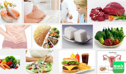 Người bệnh u nag buồng trứng nên lựa chọn những thực phẩm giúp hỗ trợ điều trị bệnh