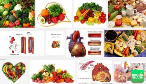 Chế độ ăn cho người bệnh mạch vành cân bằng, hợp lý sẽ giúp cải thiện sức khỏe tim mạch