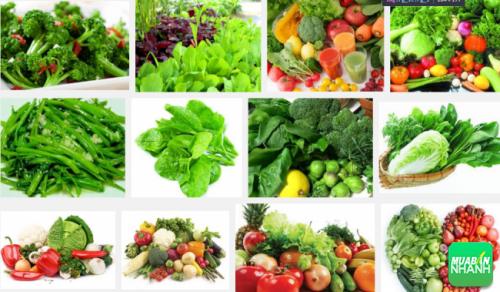 Người bệnh thiếu máu cơ tim cục bộ cần ăn nhiều rau xanh củ quả nhằm cung cấp vitamin tốt cho cơ thể