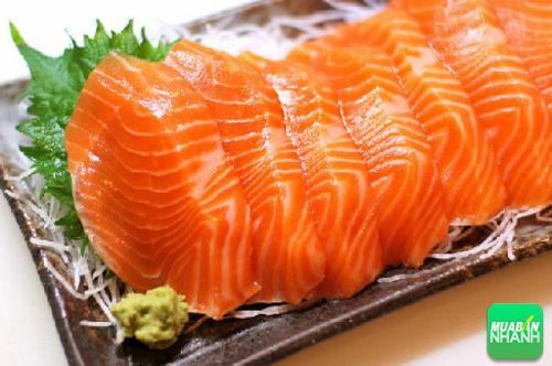 Cá hồi cung cấp axit béo omega-3