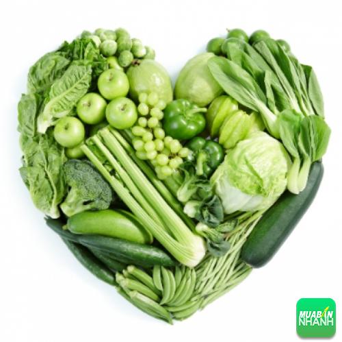 Hàm lượng vitamin rau xanh cung cấp cho cơ thể khá lớn