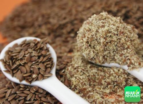 Hạt và bột hạt lanh rất tốt cho sức khỏe con người
