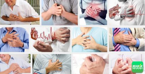 Cơn đau thắt ngực gặp ở cả nam và nữ tuổi trung niên.
