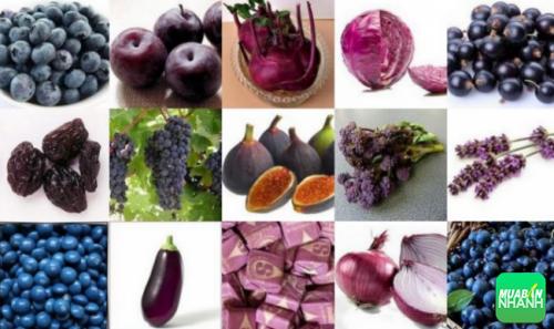 Thực phẩm màu tím chứa dinh dưỡng tốt cho bộ phận não