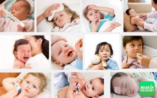 Với thể lực con non yếu trẻ em rất dễ mắc phải bệnh vặt