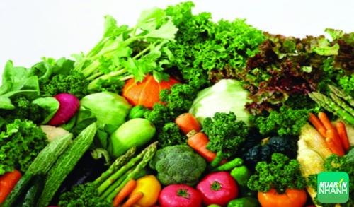 Rau xanh luôn là nguồn thực phẩm có lợi cho sức khỏe