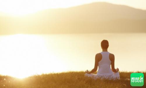 Thiền định là phương pháp giúp thư giản cơ thể, giải tỏa mệt mỏi