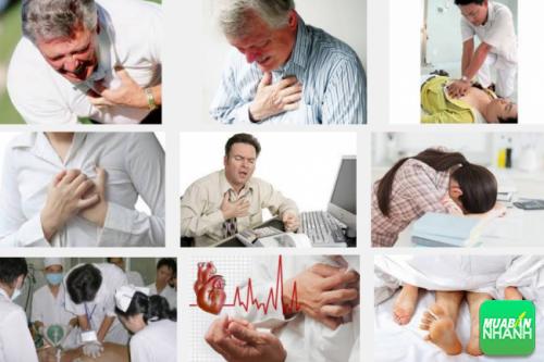 Nhồi máu cơ tim cấp xảy ra đột ngột và nguy cơ xảy ra tử vong cao