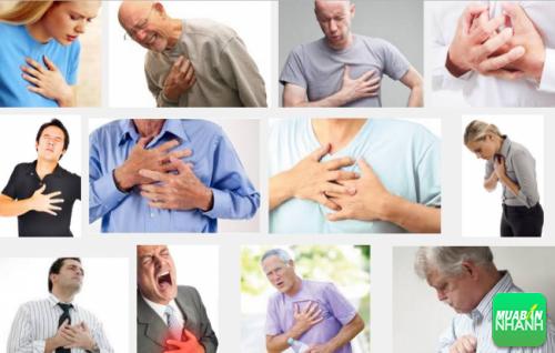 Đau ngực dữ đội là biểu hiện bạn nhận biết bệnh nhồi máu cơ tim cấp