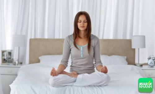 Luyện tập hít thở là cách dễ ngủ cho cơ thể bạn