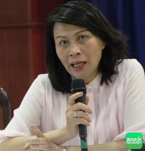 Phó Chủ tịch UBND TP HCM Nguyễn Thị Thu công bố dịch Zika tại TP HCM.