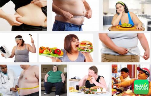 Béo phì là tình trạng thường mắc phải của cả người lớn và trẻ em nếu không có chế độ ăn uống hợp lý