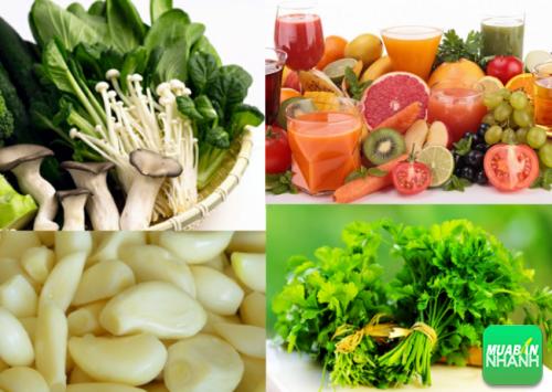 Sử dụng thực phẩm để loại bỏ lượng asen trong cơ thể chúng ta