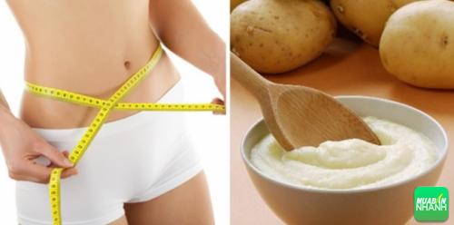 Sử dụng khoai tây trong bữa ăn hằng ngày giúp cơ thể bạn trở nên thon gọn hơn.