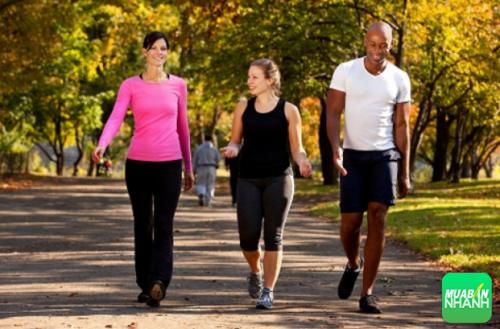 Sau ăn đi bộ chậm rãi, tinh thần khoan khoái ưu phiền rời xa