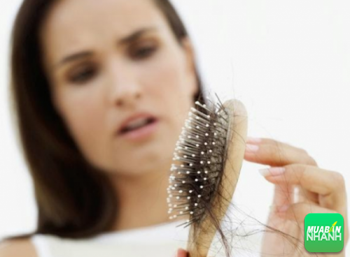 Người thiếu kẽm thường bị rụng tóc khá nhiều.