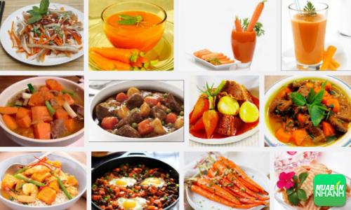 Cà rốt là món ăn yêu thích của người già