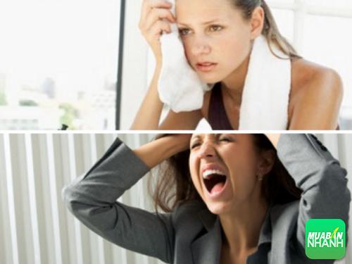 Stress hoặc tập luyện thể dục thể thao quá sức