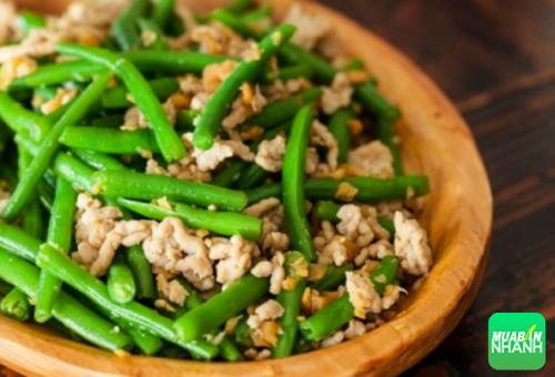 Có rất nhiều món ăn của người Việt được chế biến từ đậu cô ve.