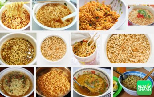 Người Việt xem mì là loại thức ăn thường ngày vừa nhanh vừa ngon.