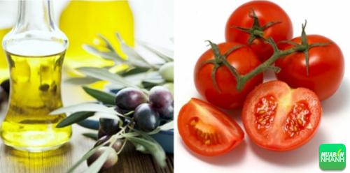 Dầu ô liu và cà chua