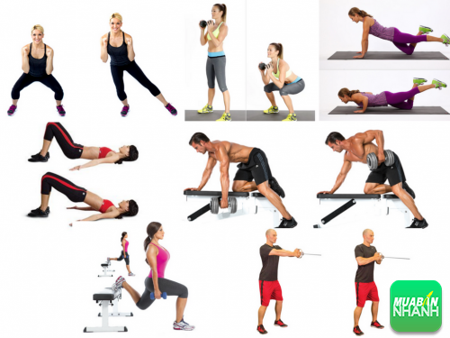 Thực hiện 7 bài tập sau giúp bạn tăng sức mạnh cơ thể, 348, Phương Thảo, Cẩm Nang Sức Khỏe, 09/11/2016 15:51:52