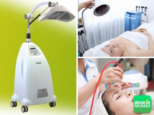 Máy ánh sáng sinh học thường xuyên được sử dụng trong cải tạo và chăm sóc da.