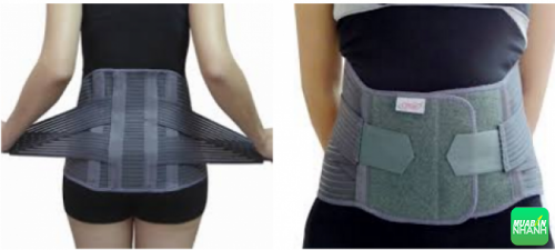 Đai lưng cột sống - Loại thiết bị y tế mới được nhiều người sử dụng.