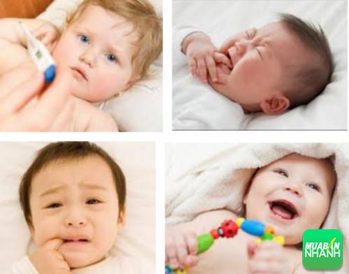 Mọc răng là thời kỳ cực kỳ khó khăn của bé và cả mẹ.