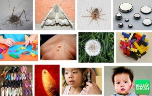10 dị vật có thể mắc vào tai trẻ