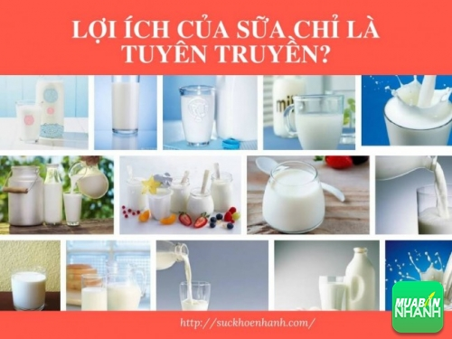Sự thật về lợi ích của sữa chỉ là tuyên truyền?