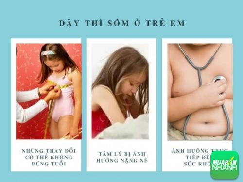 Dậy thì sớm ở trẻ em ảnh hưởng trực tiếp đến sức khỏe và tâm lý của trẻ.