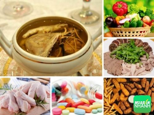 Những loại thực phẩm có thể dẫn đến tình trạng dậy thì sớm ở trẻ em.